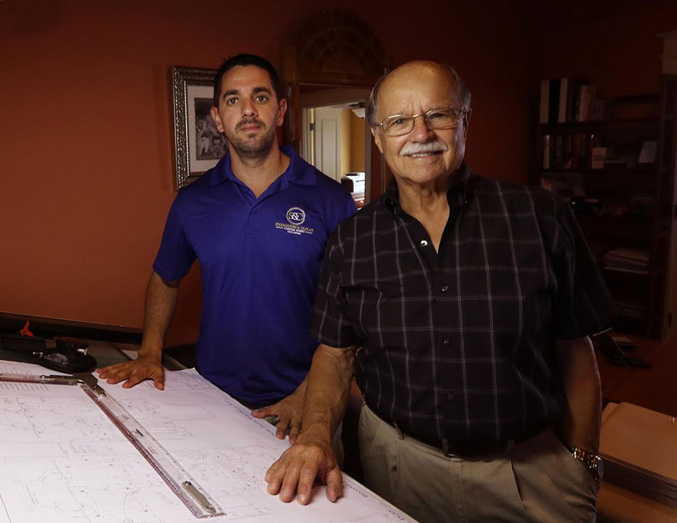 Bill Stoughton and George Duran - custom home builders in Palm Coast and Flagler Beach, Florida