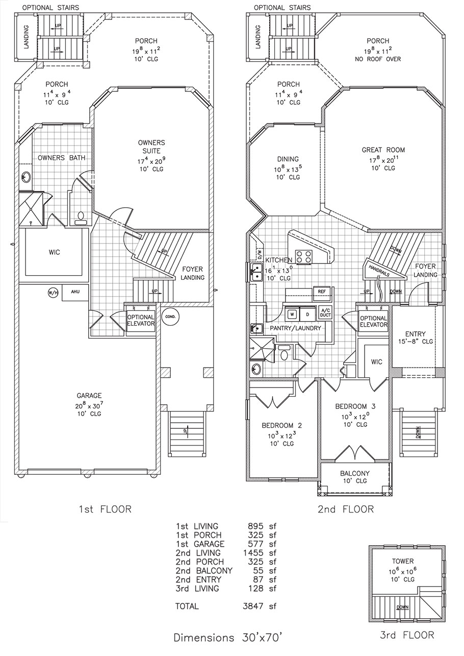 Sunrise Seashore Getaway Beachfront Floor Plan Palm