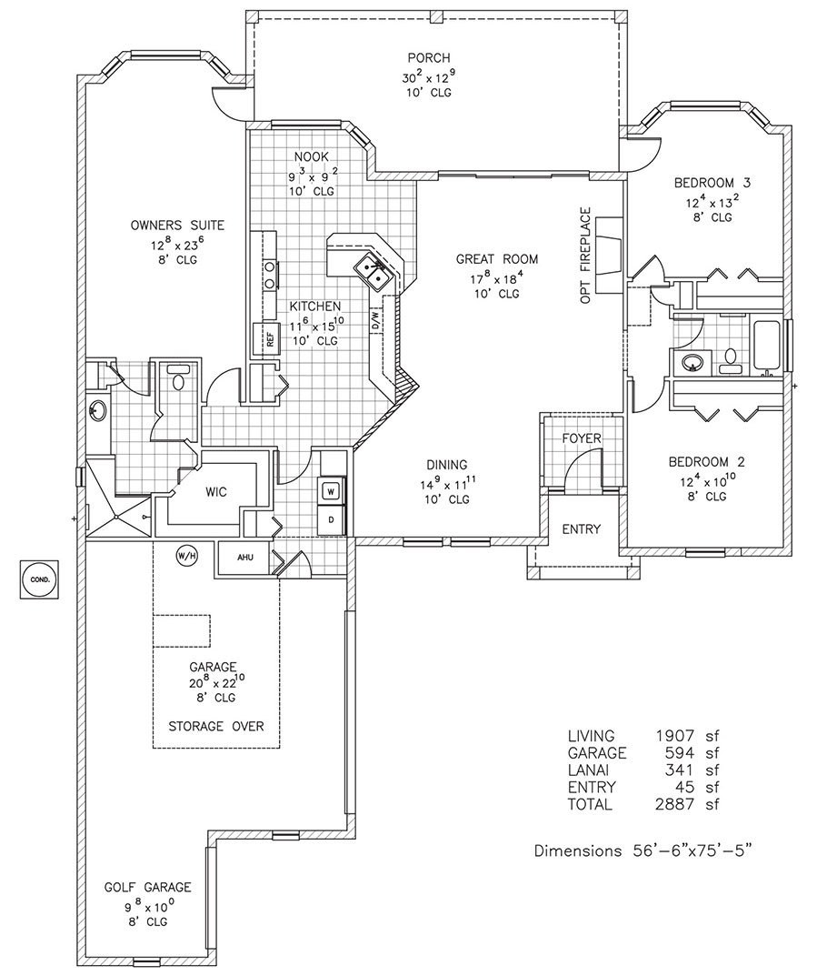 Duran Homes Floor Florida Custom Home Plans