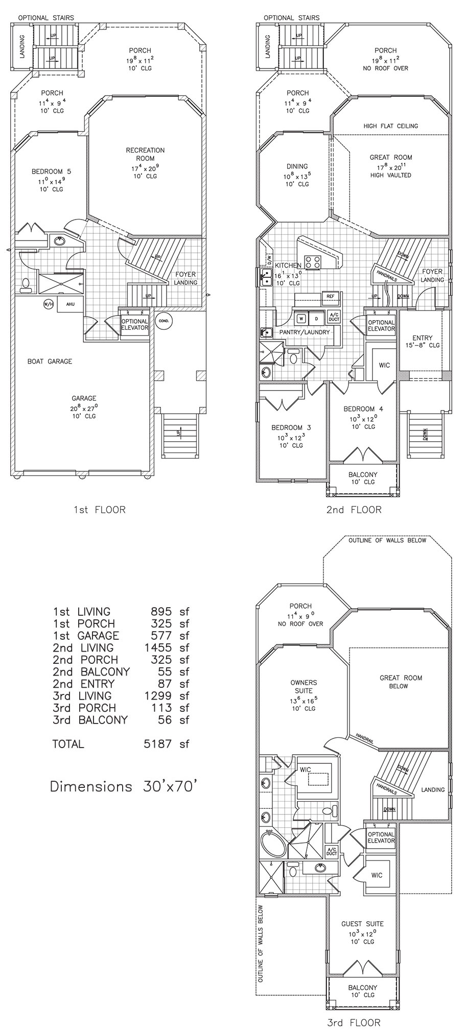 Shore Line Captains Watch Beachfront Floor Plan Palm