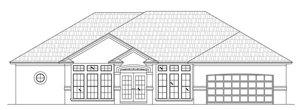 Rendering of Devonshire II by Stoughton & Duran Custom Homes