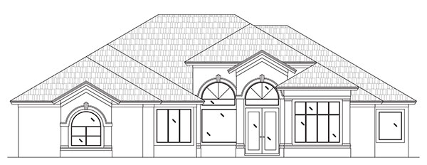 Rendering of Turnberry Lane by Stoughton & Duran Custom Homes