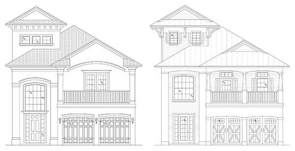 Rendering of Seabreeze / Sea Escape by Stoughton & Duran Custom Homes