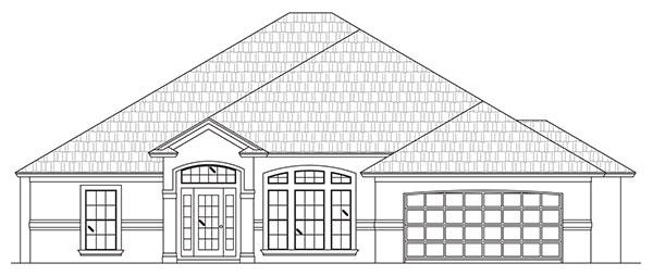 Vanderbilt Iii Custom Home Floor Plan Palm Coast Fl