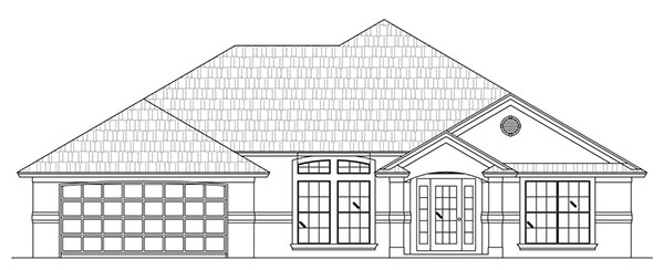 windgate - custom home floor plan - palm coast and flagler beach, fl