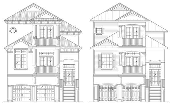 Rendering of Shore Line / Captains Watch by Stoughton & Duran Custom Homes