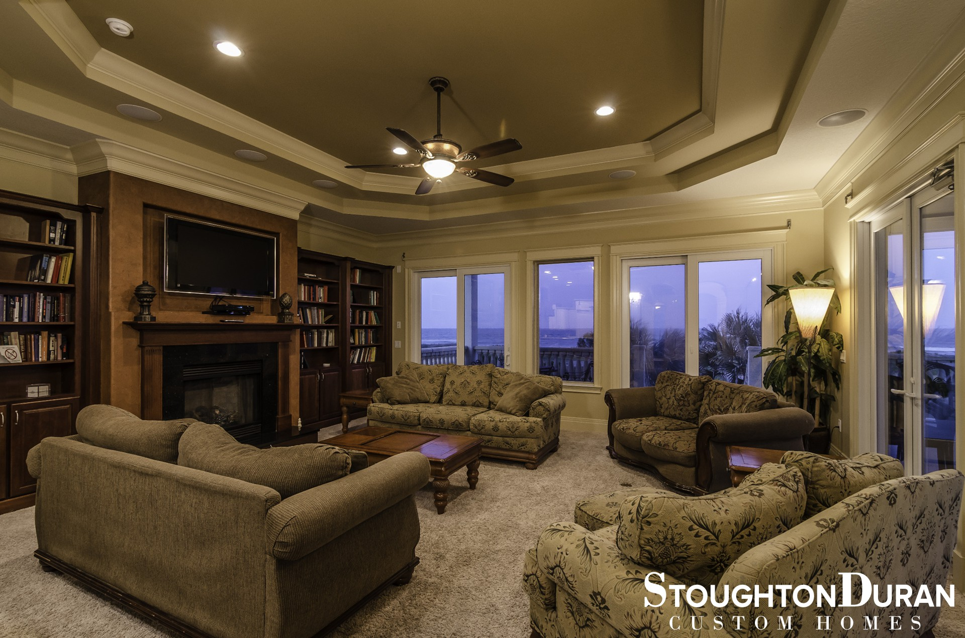 ... FL Living Area With Ocean Views   Oceanfront Home   Palm Coast, FL ...