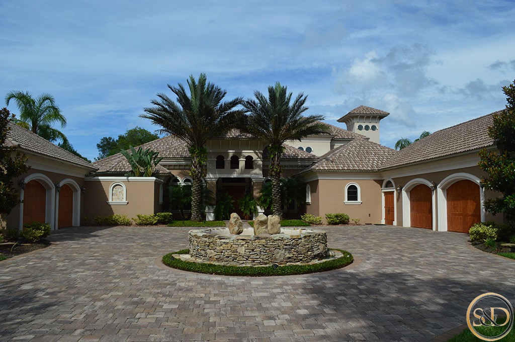 Custom home gallery palm coast fl and flagler beach fl for Mediterranean custom homes