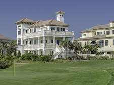 Custom home located on the beach in Palm Coast, Florida.