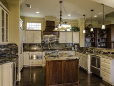 Gourmet kitchen with granite counters - oceanfront home - Palm Coast, FL