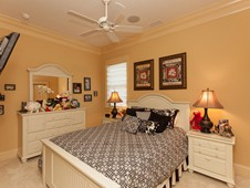 Guest bedroom - narrow lot home -Flagler Beach FL