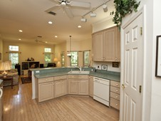Kitchen and family room - custom home - Ormond Beach FL