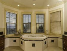 Master bath with ocean views - oceanfront home - Palm Coast, FL