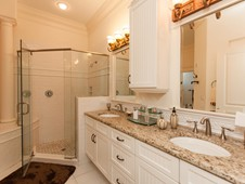Master bathroom - narrow lot home -Flagler Beach Florida
