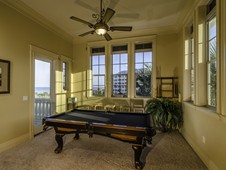 Ocean views from 2nd floor foyer - oceanfront home - Palm Coast, FL
