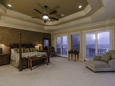 Owners suite with ocean views - oceanfront home - Palm Coast, FL
