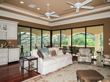 Second floor family room overlooking pool - Ormond Beach Florida